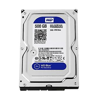 3,5 5 ch ch000 interní pevný disk WD BLUE Desktop (SATA, 6 Gb/SEK, 500 GB, 64 MB)