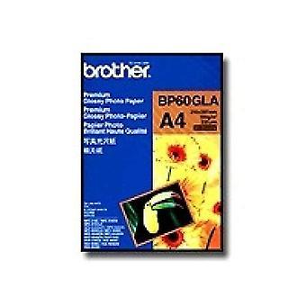 Brother BP60GLA Papel fotográfico A6 190 g/m2 210 x 297 mm 2 Hojas