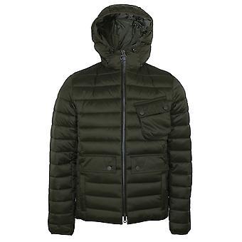 Barbour international men's olive ouston jacket