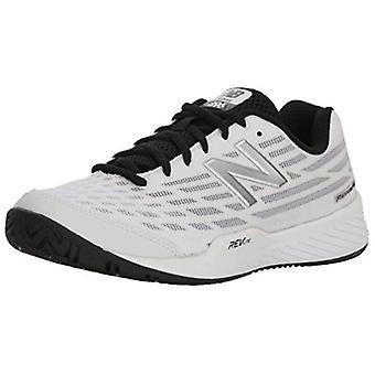 Ny balance damesko 896 V2 Hard Court Stof Lav Top Lace Up Running Sneaker