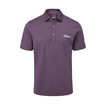 Oscar Jacobson Mens Tour Polo Shirt Top Short Sleeve Collared Neck Golf Tee