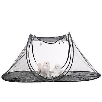 Pet telt kravlegård feline sjovt hus motion telt med taske