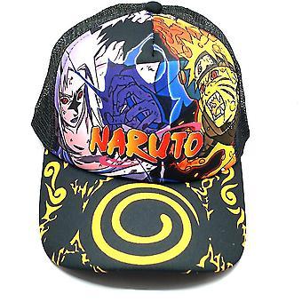 Naruto Hombre Béisbol Cap Sasuke Ace Deportes Gorra Cómoda Algodón Snapback Sombrero Naruto Sunshade Cadera