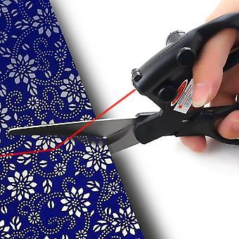 Laser Guided Fabric Scissors Trimmer Cucito Taglio Dritto Veloce Carta Craft