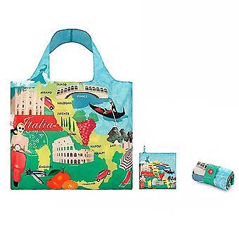 Genanvendelige Købmand Tote Håndtaske Travel Indkøbspose