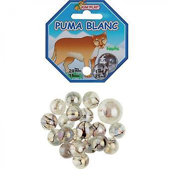 Kimplay 20 + 1 White Puma Balls