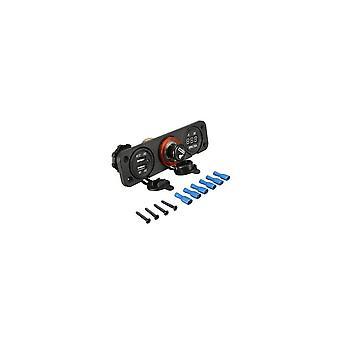 Dual Usb Adapter Charger Digital Volt Meterr Sockets