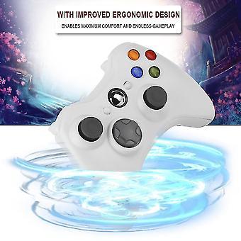 マイクロソフト Xbox 360 Xbox360 ホワイト ニュー ホット用ワイヤレス ショック ゲーム コントローラー