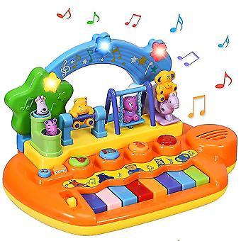 Baby Toy Piano integrált zenével