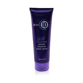 Det är en 10 Silk Express Miracle Intensive Hand Cream 120ml / 4oz