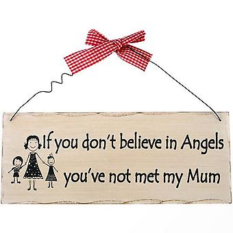 Something Different If You Don`t Believe Hanging Sign