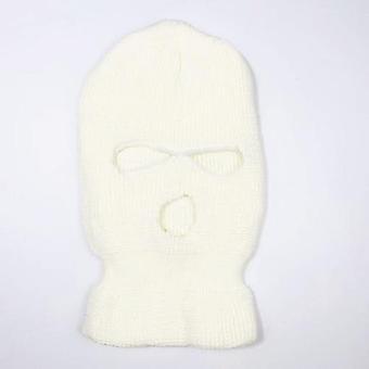 Zimná pokrývka neónová maska zelená Halloween čiapka pre party motocykel požičovňa ski