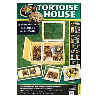 "Zoo Med Tortoise House - 36""L x 24""W x 12""H"