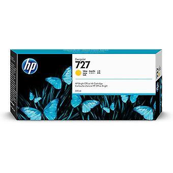 HP 727 300 ml DesignJet ink cartridge, yellow, Colour-based ink, 300 ml, 1 piece