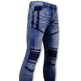 Biker Jeans - 3057 - Blue