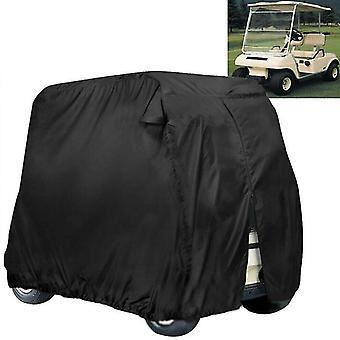 210d Waterproof Golf Cart Cover Universal Fits for Most Brand 4 Passenger Golf Cart