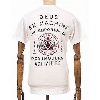 Deus Ex Machina Venice Address Tee - White