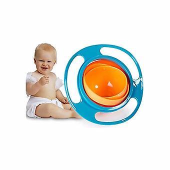 Schüssel Anti-Kipp-Gyroskop, 360 Kinder rotieren Vermeiden Sie Lebensmittelkippen