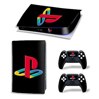 Decals Cover Whole Body Skin Protector For Ps5 Playstation 5 Console Wrap Sticker Skin With 2 Wireless Dualsense Controller Decal (digital Edition, 11