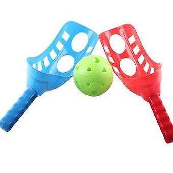 Hoďte loptu vyhadzovanie stolný tenis, deti hádzanie a chytanie,