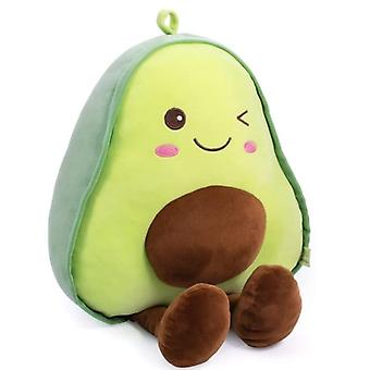 Уютно фаршированные фрукты авокадо мягкие плюшевые тушие объятия подушки подарки для детей