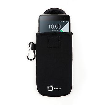InventCase neopreeni suojapussi tapauksessa BlackBerry DTEK60 - musta