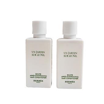 Hermès Jardin Sur Le Nil parfumé revitalisant 40 Ml lot de 2