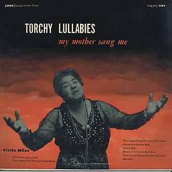 Lizzie Miles - Torchy Lullabies My Mother Sang Me [CD] USA import