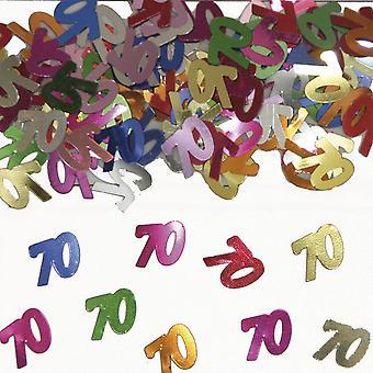 Tabela numer 70 konfetti ozdoba konfetti urodzinowe
