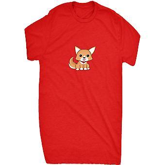 Berømte søte Corgi Pixel hunden 8 bit retro kunstverk geek dyr morsom