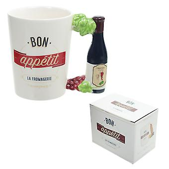 Puckator Bon apetite Fromagerie caneca