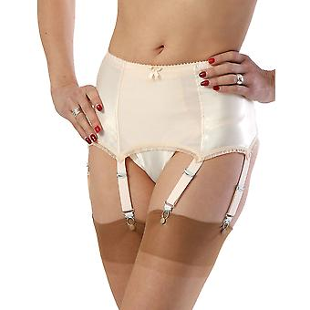 What Katie Did Harlow Vintage Peach Deep Suspender Belt L2017