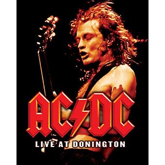 ACDC - Live at Donnington Poster Poster Print