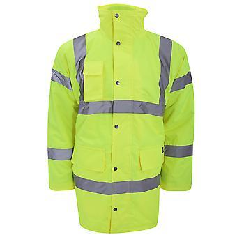 Dickies Premium Motorway Hi Vis Jacket / Mens Workwear