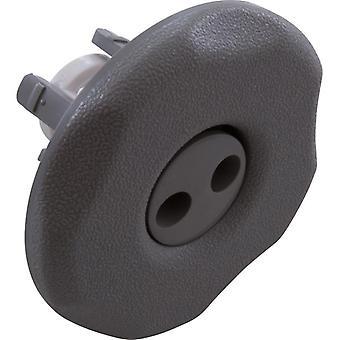 Waterway 212-1227 Adjustable Pulsator 5-Scallop Mini Jet Internal - Gray