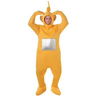 Teletubbies Laa Laa Laa-Laa giallo TV adulto vestire donne uomini Costume STD