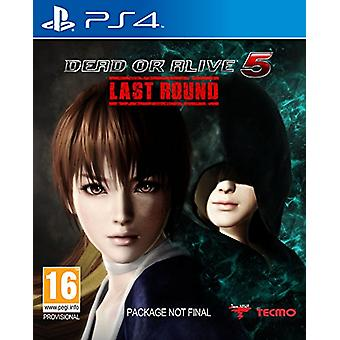 Dead or Alive 5 Last Round (PS4) - New