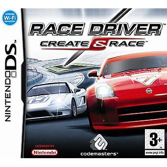 Race Driver Create and Race (Nintendo DS) - Fabrik versiegelt
