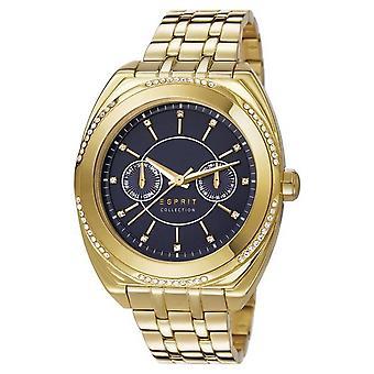 ESPRIT Handklockor armbandsur Klymene rostfritt stål guld EL102072F05