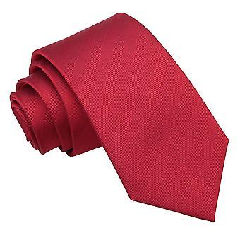 Punainen kalanruoto silkki Slim solmio