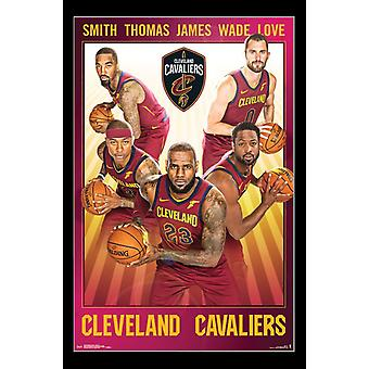 Cleveland Cavaliers - Team Poster Print