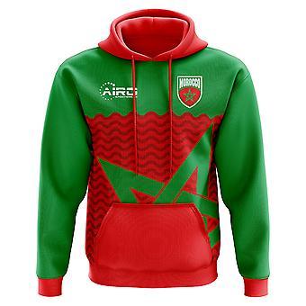 2018-2019 Marokko hjem konseptet fotball Hoody