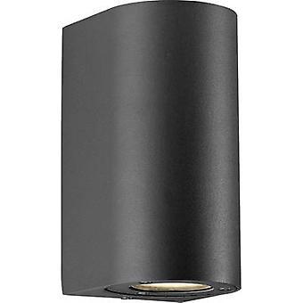 Nordlux Canto Maxi 77561003 Outdoor Wand leichte HV Halogen GU10 70 W schwarz