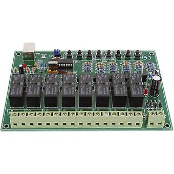 Velleman VM8090 Relé kort Komponent 9 V DC, 12 V DC