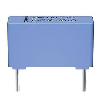 TDK B32521E6223K000 1 ud(s) condensador de película delgada MKT Condensador de película fina 22 nF 400 V DC 10 % 10 mm (L x W x H) 13 x 4 x 7 mm condensador de película fina Cable radial 22 nF 400 V DC 10 % 10 mm (L x W x H) 13 x 4 x 7 mm