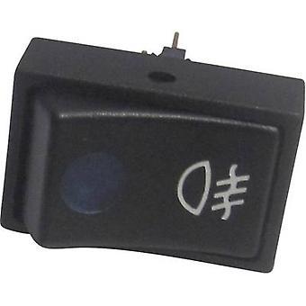 SCI Car toggle switch R13-207B2-SQ BL BEL 12 V 12 V DC 20 A 1 x Off/On latch 1 pc(s)