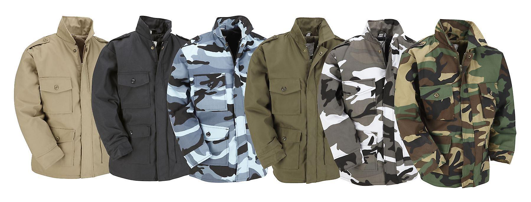 Top Gun Kids Children Combat Military Field Jacket