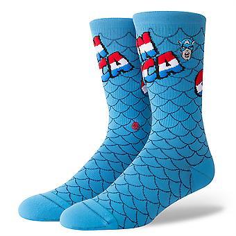 Haltung-Stiftung Herren Socken ~ Captain America