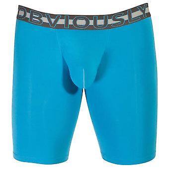 Uppenbarligen EveryMan AnatoMAX Boxer kort 9 tums ben - Bondi Blue