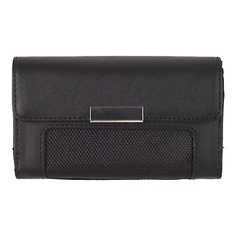 Universal Horizontal Leather Case XXL for Oversized Handsets